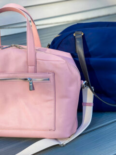Away everywhere bag and Lo and Co bag