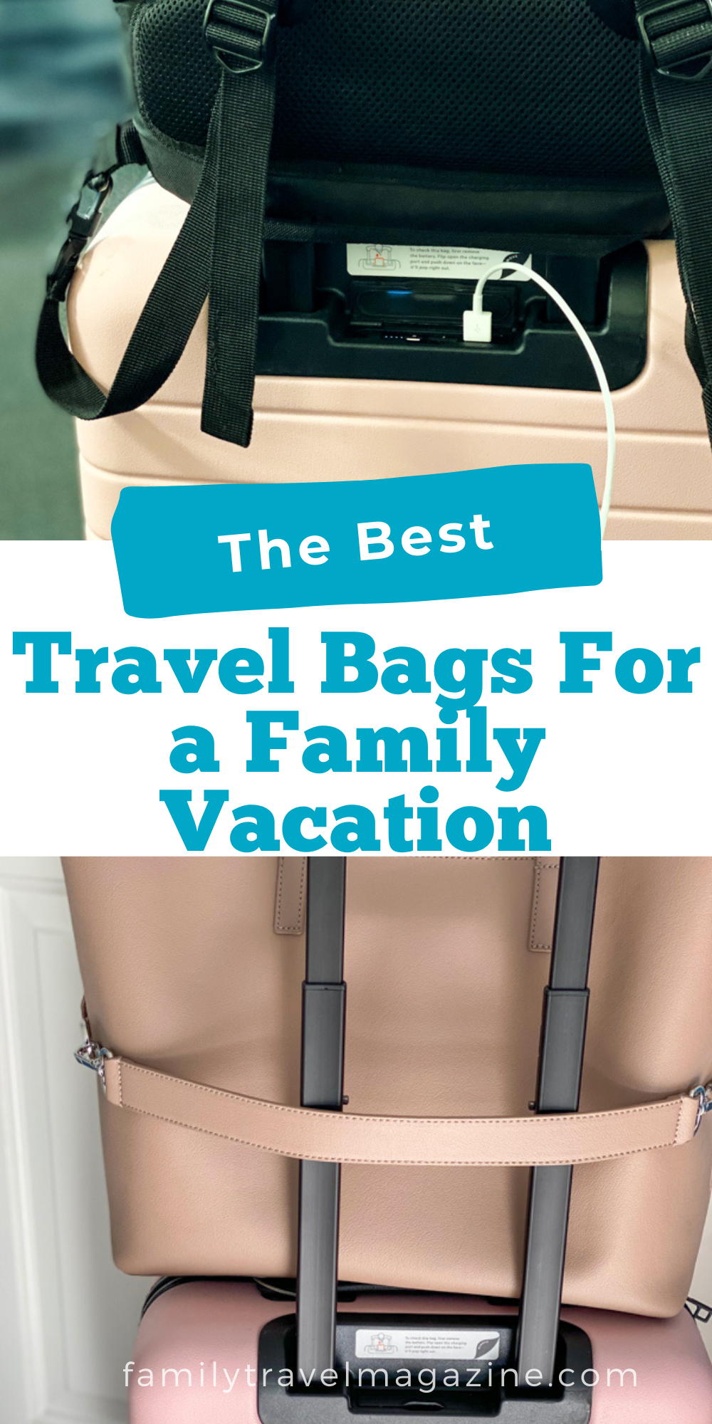An overview of the best travel bags for family travel offering the perfect combination of style and functionality.