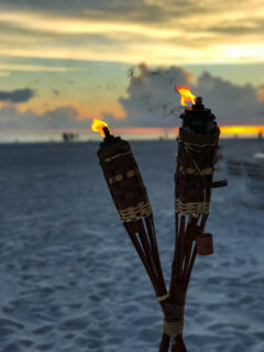 Torches on the Beach at Resort at Longboat Key Club