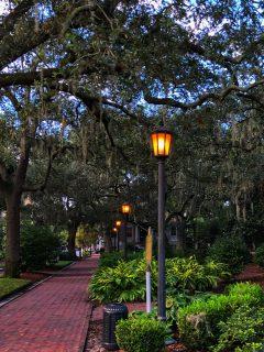 A street in Savannah Georgia
