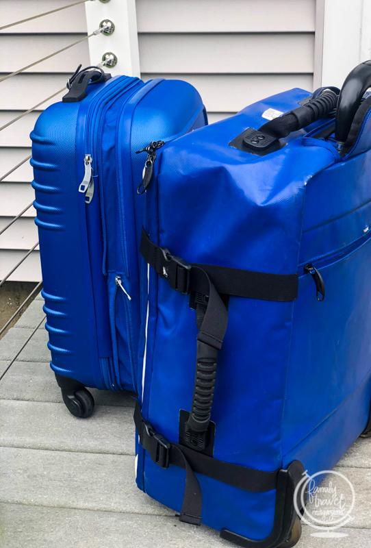 Hideo Wakamatsu Tarpaulin Bag in Blue