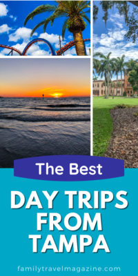 Tampa has some fun attractions right within the metro area and is also central to many other beautiful cities and towns for day trips.
