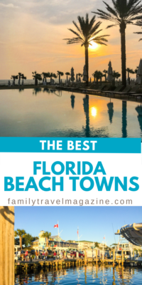 The best coastal towns in Florida with beaches, museums, state parks, nature trails, aquariums, art galleries, eco-activities, and shopping.