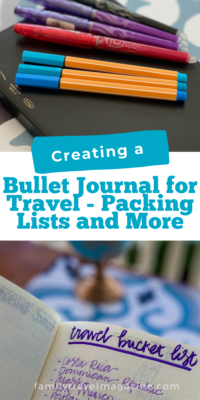 Bullet journals are also great to use as a travel journal for your next vacation. You can create bullet journal <a href=
