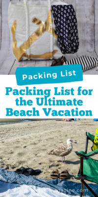 Headed to the beach for a family vacation? You'll want to buy and bring along some essential products to have lots of safe fun. Here are our downloadable beach packing lists for families.