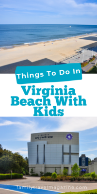 Planning your next family vacation to Virginia Beach, Virginia? Check out favorite things to do there including the beach, aquarium, delicious food, the Eastern Shore, and more!
