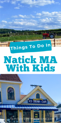 Natick MA, located west of Boston, has lots of fun indoor and outdoor activities for families. Here are the best things to do in Natick.
