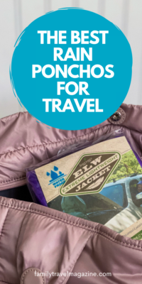 Whether you are going on a theme park vacation or on a camping/hiking trip, you may want to pack a rain poncho. Here are the best rain ponchos for travel.