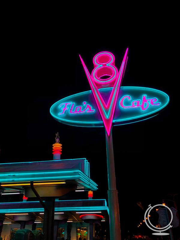 Flo's V8 Cafe at Cars Land