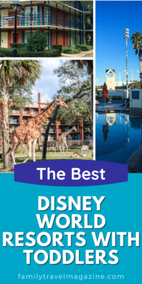 Walt Disney World has so many wonderful resorts, and they are all family-friendly. There are some resorts that are best with toddlers and young kids - here are our favorites.