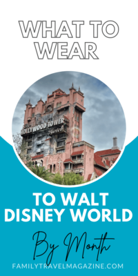If you are visiting Walt Disney World, you'll need to make sure you pack and wear the right things for the weather and activity. Here are suggestions of what to wear to Walt Disney World by month.