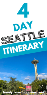 Wondering how many days to visit Seattle? Here is our recommended Seattle itinerary for our recommendation of four days in Seattle with kids, with optional activities for the surrounding area.