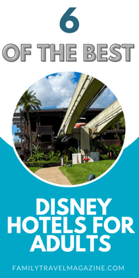 Going on an adult or a solo trip to Walt Disney World? If you are wondering which hotel to stay in, here are six of the best Disney hotels for adults at Walt Disney World.