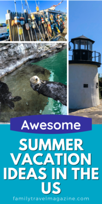 There's still time to book your summer vacation. For inspiration, here are some awesome summer vacation ideas in the US for families.
