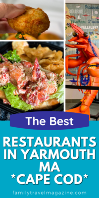 There are so many delicious seasonal and year round restaurants open in the popular Cape Cod town of Yarmouth. Here are the best restaurants in Yarmouth MA for your next family vacation.