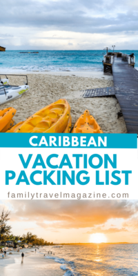 Planning to visit the Caribbean? Check out our vacation packing list including all of the items you'll need to pack for your tropical island vacation.