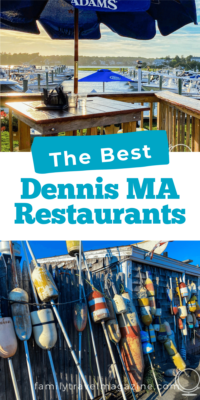 Dennis, MA, located on the Mid-Cape in Cape Cod, has some great places to eat. Here are the best restaurant in Dennis MA, whether or not you like seafood.
