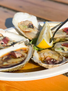 Sushi oysters