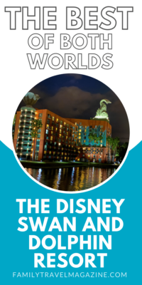 The Best of Both Worlds? Review of the Walt Disney World Swan and Dolphin resort, which offers some of the same benefits as onsite resorts.