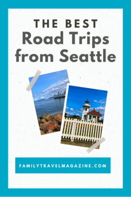 Want to expand your vacation beyond the city of Seattle? Here are some great family road trips from Seattle including national parks, a trip to Canada, and an island adventure.