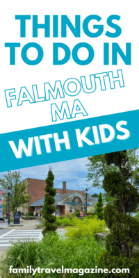 Falmouth, MA, on Cape Cod, is a fantastic family destination for a day trip or a family vacation. Here are some of the best things to do in Falmouth MA with kids.