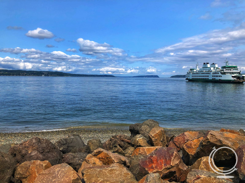 Seattle ferry boat