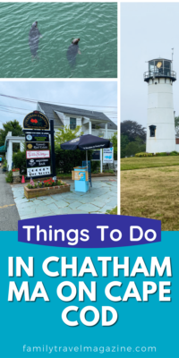"""Plan on visiting the """"elbow"""" of Cape Cod? Here are some of the best things to do in Chatham MA on Cape Cod, including seal watching, shopping, and eating."""