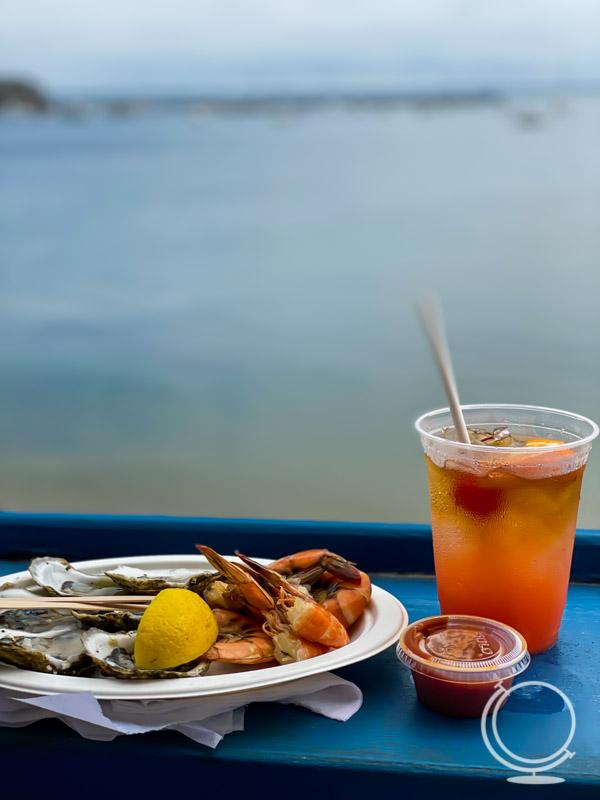 Seafood at Aqua Bar
