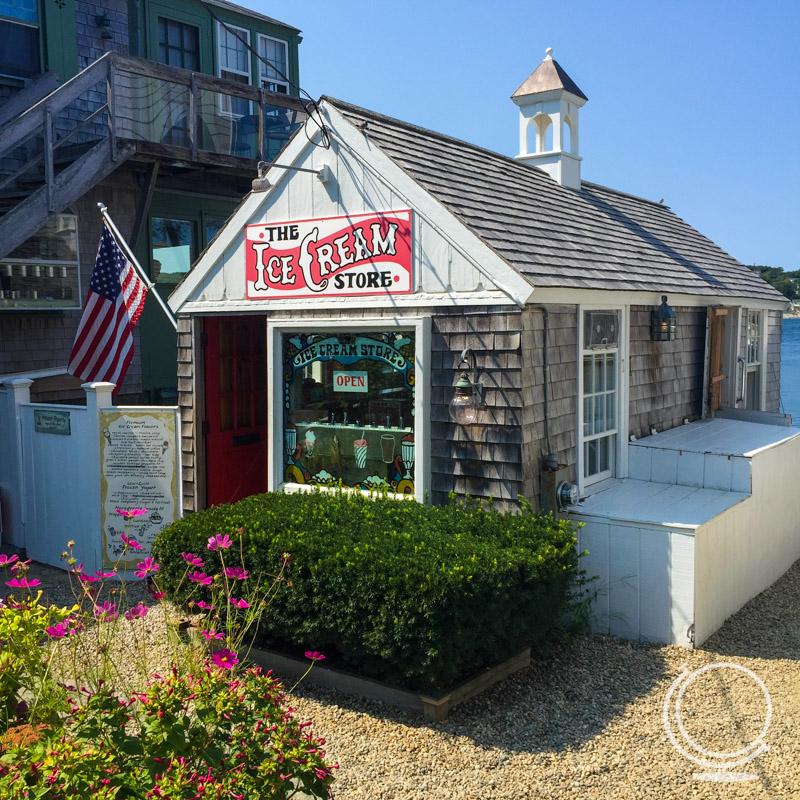 Ice Cream Shop in Rockport MA