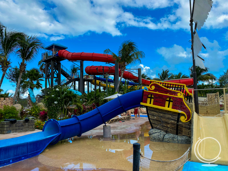 Water park at Beaches Turks and Caicos