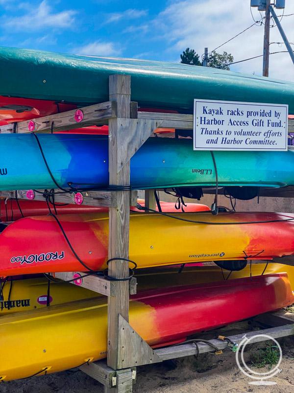 Kayaks in Provincetown